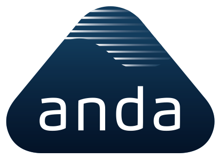 ANDA-OLSEN AS logo