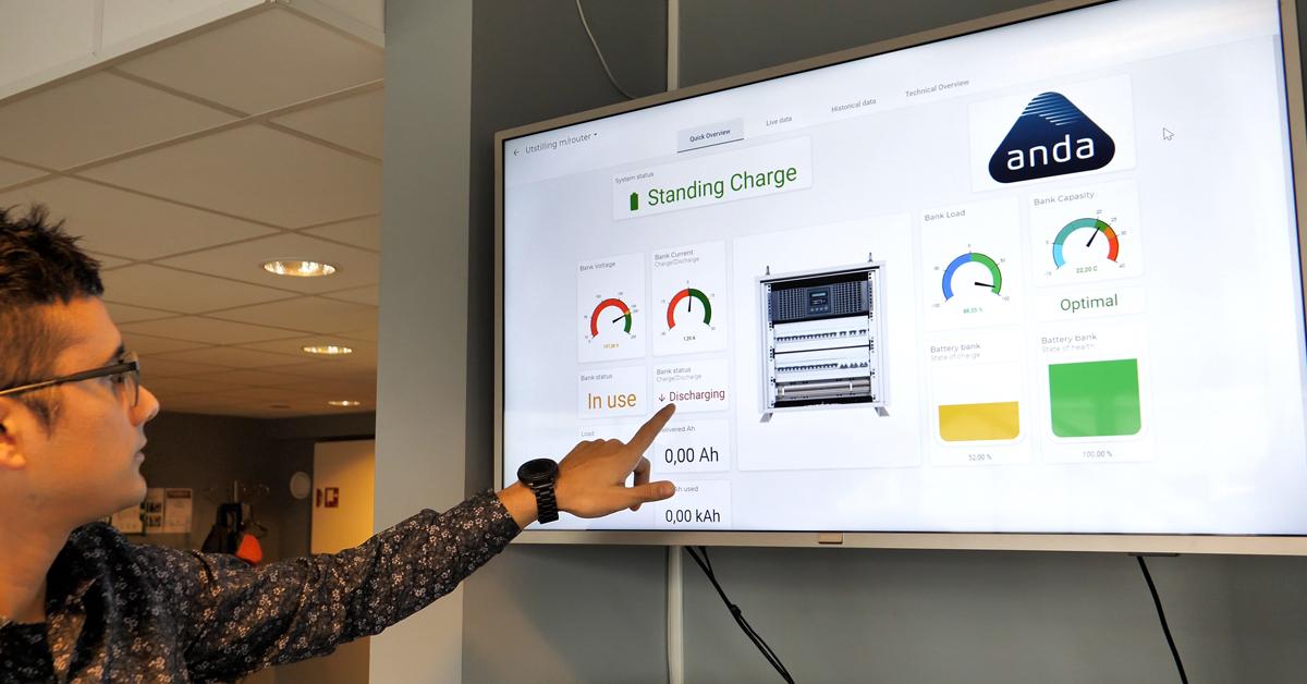 Michael Carroza leder utviklingen av IoT-løsningen Anda Cloud.